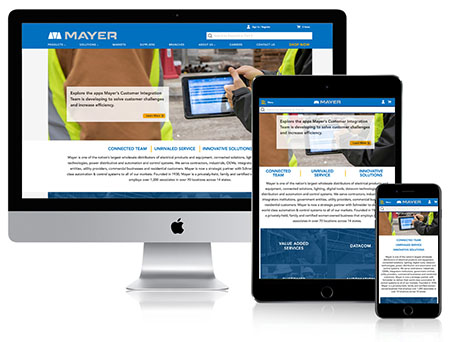 Mayer's new website